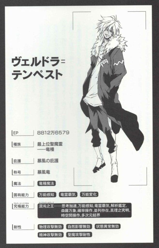 【転スラ】ヴェルドラ最新ステータス画像
