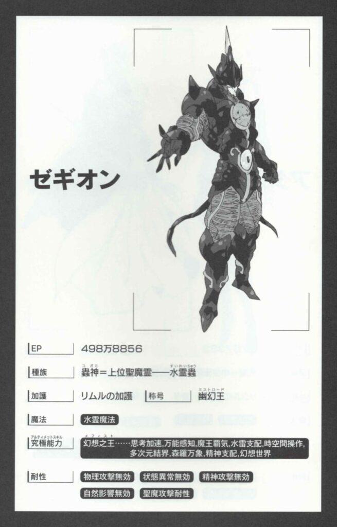 【転スラ】聖魔十二守護王強さランキングゼギオン画像